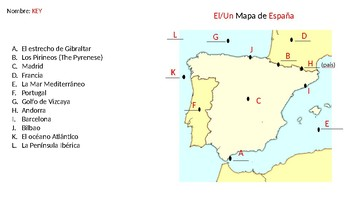 Map Of Spain Quiz.Map Of Spain Quiz