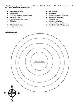 Map of To Kill a Mockingbird