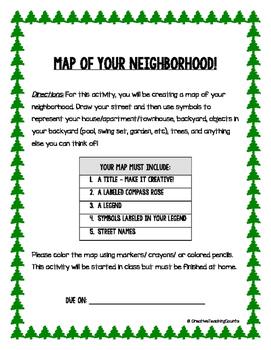 Map Skills - Map of Your Neighborhood