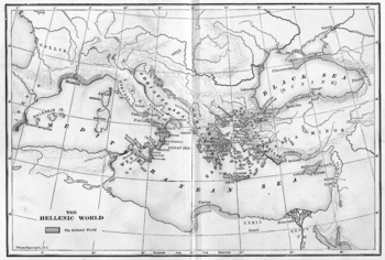 Map of the Hellenic World