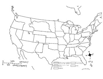 map of the united states 1861