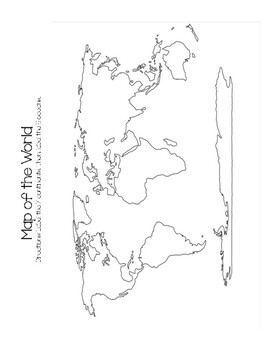 Map of the World Resource