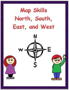 Map skills N, S, E, W