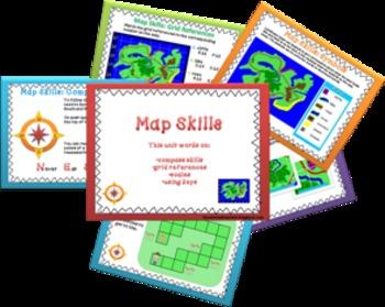 Map skills pack