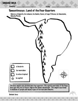 Map the Inca Empire!