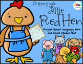 Map with Little Red Hen: Integrated ELA and Social Studies Pack