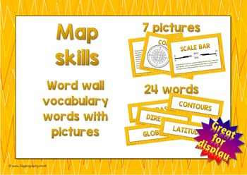 Map words for word wall