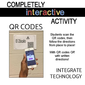 Directions in Spanish Reading Activity in Oaxaca with QR Codes