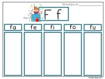 Mapa de sílabas