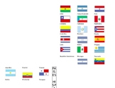 Mapa e información de los países hispanohablantes