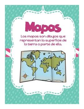 Mapas (Características) / Map Skills in Spanish