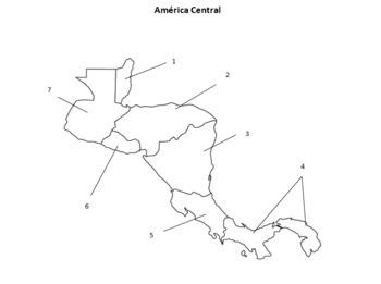 Mapas y Pruebas: Las Américas