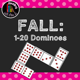Fall Autumn Dominoes 0-20