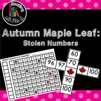 Maple Leaf Missing Stolen Numbers