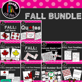 Fall Autumn Math 1-20 and More Bundle