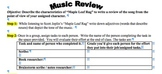Gilded Age Cooperative Activity- Music Review of Maple Leaf Rag