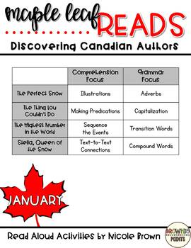 Maple Leaf Reads - January