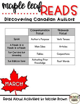 Maple Leaf Reads - March