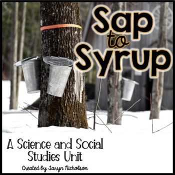 84453d6693e Canadian Maple Syrup Worksheets   Teaching Resources
