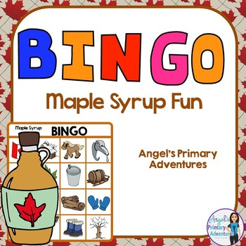 Maple Sugar Bush Themed Bingo Game