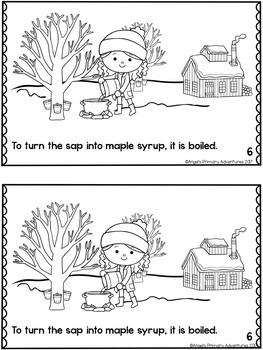 Maple Sugar Time Emergent Reader