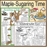 Maple-Sugaring Time Traditions Puzzle Set