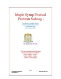 Maple Syrup Problem Solving:Critical Thinking Aligned to t