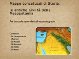Mappe concettuali di Storia: Le antiche Civiltà della Mesopotamia
