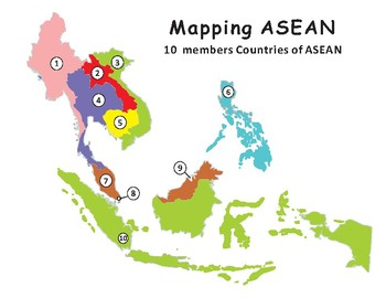 Mapping ASEAN: Association of Southeast Asian Nations
