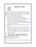 Mapping Activity - Signs of Spring Hunt