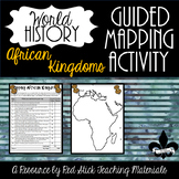 Mapping African Kingdoms Activity--No PREP!