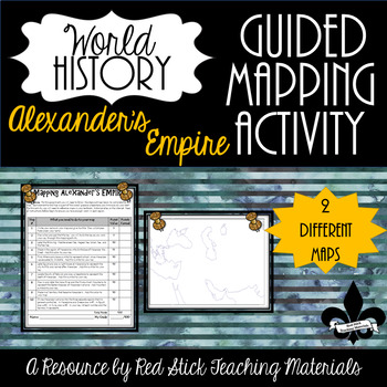 Mapping Alexander the Great's Empire--No PREP!