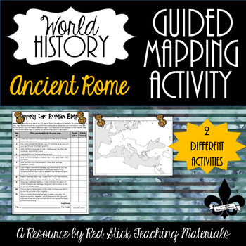 Mapping Ancient Rome--No PREP!