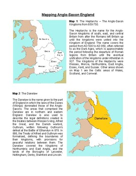 Mapping Anglo-Saxon England