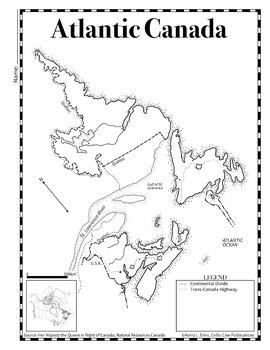 Mapping Atlantic Canada