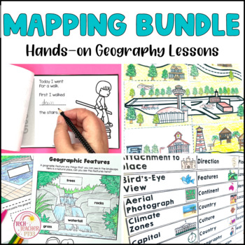 Mapping Bundle Geography prepositional language direction and map making