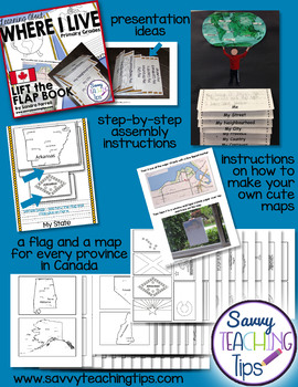 Mapping - Canada Lift the Flap Book