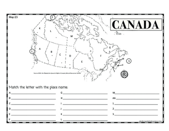 Mapping Canada Free Version