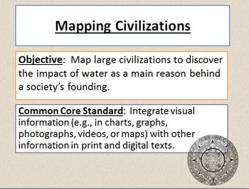 Mapping Civilizations Powerpoint Activities