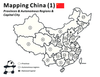Mapping & Coloring China