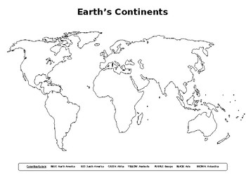 Mapping EARTH Lab #1A