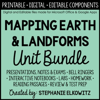 Mapping Earth Unit Bundle