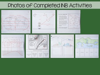 Mapping Earth and Landforms Interactive Notebook Unit