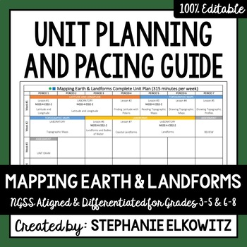 Mapping Earth and Landforms Unit Planning Guide