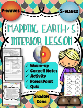 Mapping Earth's Interior Lessons (Notes, Presentation, & Activity) Earthquakes