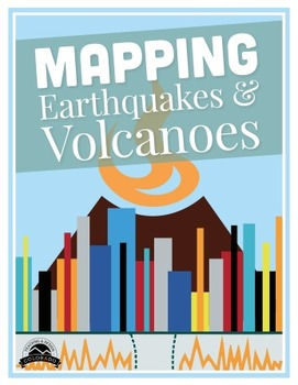 Mapping Earthquakes and Volcanoes - {Editable}