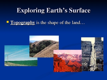 Mapping Earth's Surface