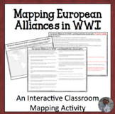 Mapping European Alliances in WWI Activity Collaborative Geography Lesson