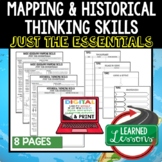 Mapping, Geography, & Historical Outline Notes JUST THE ESSENTIALS Unit Review