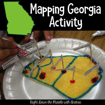 Mapping Georgia- A Culminating Map Activity